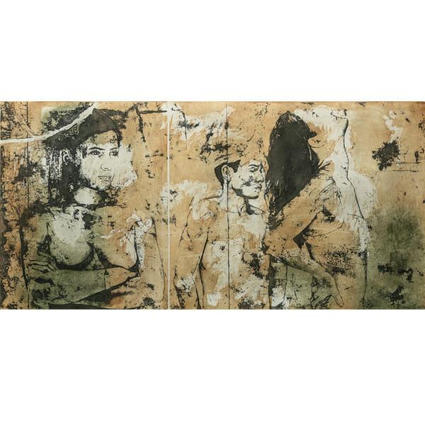 Tres figuras en una habitación de Roberto Cortazar
