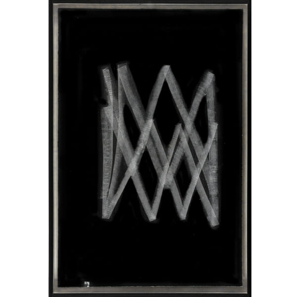 Fantasmagorías 1 de Omar Arcega con marco