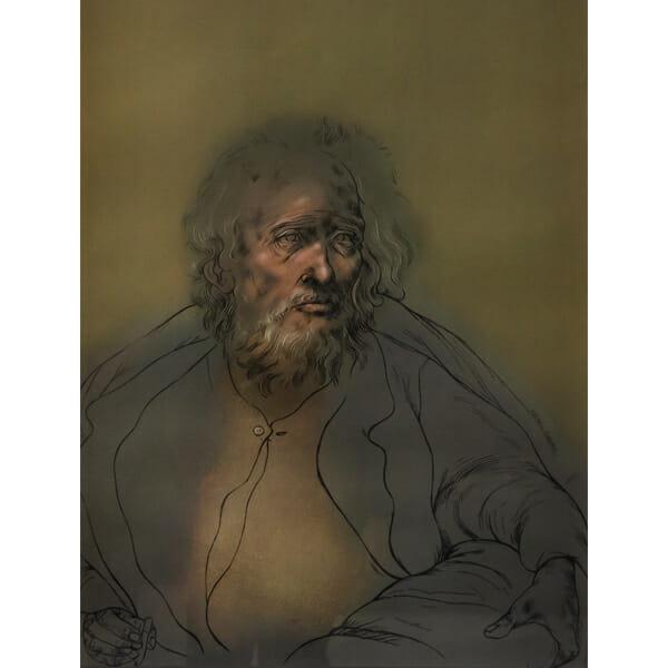 Anciano Sombra de Rafael Coronell